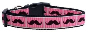 125-080 pink striped moustache nylon-large-1000